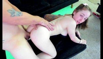girl strips and fucks