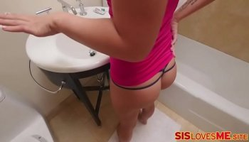 son cums inside his mother
